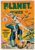 Golden Age (1938-1955):Science Fiction, Planet Comics #54 (Fiction House, 1948) Condition: VG/FN....