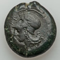 Ancients:Greek, Ancients: SICILY. Syracuse. Ca. 375-344 BC. AE 28 mm (31.65 gm)....