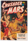 Golden Age (1938-1955):Science Fiction, Crusader from Mars #2 (Ziff-Davis, 1952) Condition: VG+....