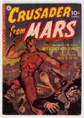 Golden Age (1938-1955):Science Fiction, Crusader from Mars #1 (Ziff-Davis, 1952) Condition: FN....