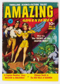 Golden Age (1938-1955):Science Fiction, Amazing Adventures #5 (Ziff-Davis, 1951) Condition: FN-....