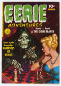 Golden Age (1938-1955):Horror, Eerie Adventures #1 (Ziff-Davis, 1951) Condition: Apparent FN....