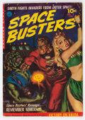 Golden Age (1938-1955):Science Fiction, Space Busters #2 (Ziff-Davis, 1952) Condition: VG+....