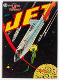 Golden Age (1938-1955):Science Fiction, Jet Powers #4 (Magazine Enterprises, 1951) Condition: FN....