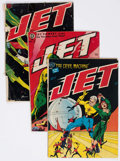 Golden Age (1938-1955):Science Fiction, Jet Powers #1-3 Group (Magazine Enterprises, 1950-51).... (Total: 3Comic Books)