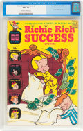 Silver Age (1956-1969):Humor, Richie Rich Success Stories #7 (Harvey, 1966) CGC NM+ 9.6 Off-white to white pages....