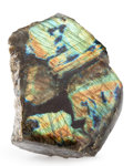 Lapidary Art:Carvings, Polished Labradorite. Madagascar. 7.09 x 6.30 x 2.76inches (18.00 x 16.00 x 7.00 cm). ...