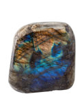 Lapidary Art:Carvings, Polished Labradorite Free-Form. Madagascar. 3.02 x 2.97 x 2.21inches (7.67 x 7.54 x 5.62 cm). ...
