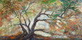 Fine Art - Painting, American:Contemporary   (1950 to present)  , Rita Hoffman Shulak (American, 20th Century). Rita's Tree.Oil on canvas. 24 x 48 inches (61 x 121.9 cm). Signed lower l...
