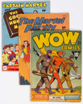 Golden Age (1938-1955):Miscellaneous, Fawcett Golden Age Group of 12 (Fawcett Publications, 1940s-50s) Condition: Average GD/VG.... (Total: 12 Comic Books)