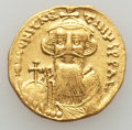 Ancients:Byzantine, Ancients: Constans II (641-668). AV solidus (4.44 gm)....