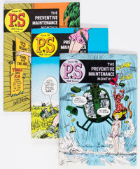 PS Preventative Maintenance Monthly Group of 67 (U.S. Army, 1963-75) Condition: Average VF/NM.... (Total: 67 Comic Books...