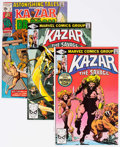 Modern Age (1980-Present):Miscellaneous, Ka-Zar the Savage Group of 36 (Marvel, 1970-84) Condition: Average NM.... (Total: 36 Comic Books)