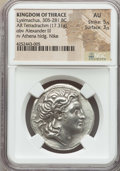 Ancients:Greek, Ancients: THRACIAN KINGDOM. Lysimachus (305-281 BC). AR tetradrachm(17.31 gm)....