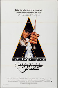 "A Clockwork Orange (Warner Brothers, 1971). International One Sheet (27"" X 41""). Science Fiction"