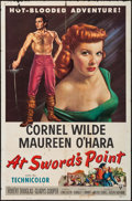 """Movie Posters:Adventure, At Sword's Point & Other Lot (RKO, 1952). One Sheets (2) (27"""" X41""""). Adventure.. ... (Total: 2 Items)"""