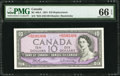 Canadian Currency: , BC-40bA $10 1954 Replacement *B/D Prefix. ...