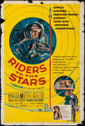 "Movie Posters:Science Fiction, Riders to the Stars (United Artists, 1954). One Sheet (27"" X 41"").Science Fiction.. ..."