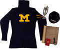 Olympic Collectibles:Autographs, Early 1900's Horace Ramey University of Michigan Sweater, Scrapbooks, etc....