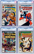 Modern Age (1980-Present):Superhero, Marvel Team-Up CGC-Graded Group of 4 (Marvel, 1981-83) CGC NM/MT9.8.... (Total: 4 Comic Books)