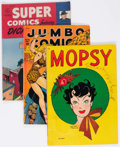Golden Age (1938-1955):Miscellaneous, Comic Books - Assorted Golden Age Comics Group of 30 (Various Publishers, 1940s-50s) Condition: Average VG-.... (Total: 30 Comic Books)