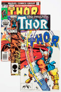 Modern Age (1980-Present):Superhero, Thor Group of 57 (Marvel, 1969-86) Condition: Average NM....(Total: 57 Comic Books)