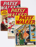 Golden Age (1938-1955):Humor, Patsy Walker Group of 5 (Atlas, 1946-47) Condition: Average VG+.... (Total: 5 Comic Books)