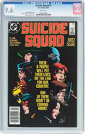 Modern Age (1980-Present):Superhero, Suicide Squad #1 (DC, 1987) CGC NM+ 9.6 White pages....
