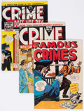 Golden Age (1938-1955):Crime, Crime Does Not Pay Group of 8 (Lev Gleason, 1947-49) Condition: Average VG.... (Total: 8 Comic Books)