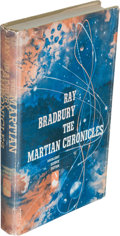 Books:Science Fiction & Fantasy, Ray Bradbury. The Martian Chronicles. New York: Doubleday & Company, Inc., 1950. First edition in the first state gr...