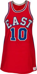 Basketball Collectibles:Uniforms, 1971 Walt Frazier All-Star Game Worn Uniform, MEARS A10....