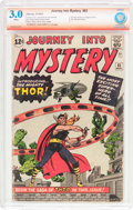 Silver Age (1956-1969):Superhero, Journey Into Mystery #83 Verified Signature Series (Marvel, 1962)CBCS GD/VG 3.0 White pages....