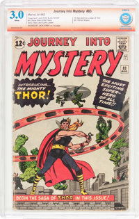 Journey Into Mystery #83 Verified Signature Series (Marvel, 1962) CBCS GD/VG 3.0 White pages