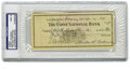 Autographs:Checks, 1944 Mickey Cochrane Signed Check. You can poke a bit of fun at theboys of PSA/DNA with this one. We aren't quite sure wh...
