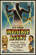 "Movie Posters:Adventure, Invisible Agent (Universal, 1942). One Sheet (27"" X 41"").Adventure. ..."