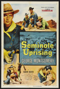 "Movie Posters:Adventure, Seminole Uprising (Columbia, 1955). One Sheet (27"" X 41"").Adventure. ..."