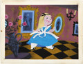 "animation art:Production Cel, Mary Blair - ""Alice in Wonderland"" Animation Concept Painting Original Art (Disney, 1951)...."