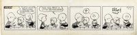Charles Schulz - Peanuts Daily Comic Strip Original Art, dated 9-11-53 (United Features Syndicate, 1953)