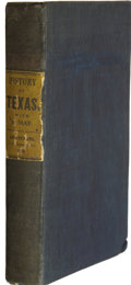 Books, David B. Edward. The History of Texas; or, TheEmigrant's, Farmer's, and Politician's Guide to the Character,Clim...