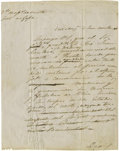 Autographs:Military Figures, Antonio Lopez de Santa Anna: Signed Battlefield Orders from the Mexican War....