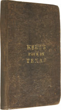 Books:First Editions, Hugh Kerr: A Poetical Description of Texas, ...