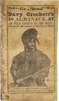 "Books:Periodicals, [David Crockett]: Vol. I. ""Go Ahead!"" No. 3...."