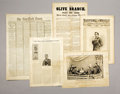 "Military & Patriotic:Civil War, NEW-YORK TIMES NEWSPAPER APRIL 15, 1865, ""PRESIDENT LINCOLN SHOT BY AN ASSASSIN THE DEED DONE AT FORD'S TH... (Total: 24 Items)"