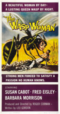 "Movie Posters:Science Fiction, The Wasp Woman (20th Century Fox, 1959). Three Sheet (41"" X 81"")...."