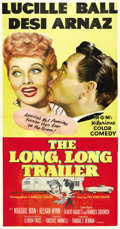 """Movie Posters:Comedy, The Long, Long Trailer (MGM, 1954). Three Sheet (41"""" X 81""""). ..."""