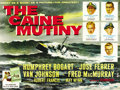 "Movie Posters:War, The Caine Mutiny (Columbia, 1954). British Quad (30"" X 40""). ..."