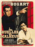 "Movie Posters:Film Noir, Knock on Any Door (Columbia, 1949). French Grande (47"" X 63""). ..."