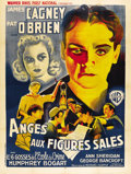 """Movie Posters:Crime, Angels With Dirty Faces (Warner Brothers, 1938). French Grande (47"""" X 63""""). ..."""