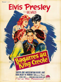 "Movie Posters:Elvis Presley, King Creole (Paramount, 1958). French Grande (47"" X 63""). ..."