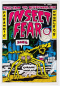 Bronze Age (1970-1979):Alternative/Underground, Insect Fear #1 (Print Mint, 1970) Condition: VF....